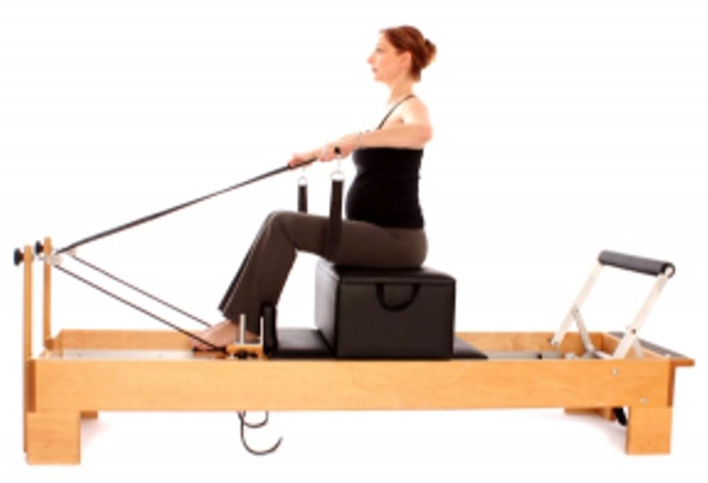 Pilates Embarazo con máquinas